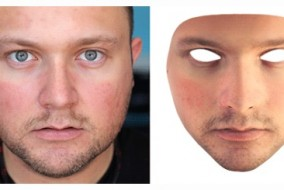 3d geprint gezichtsmasker
