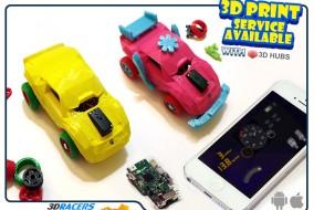3DRacers 3d printen game